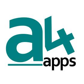 a4 apps logo 350
