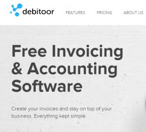 debitoor screenshot