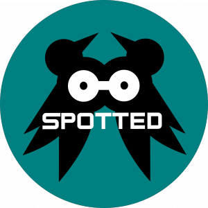 Spotted logo green